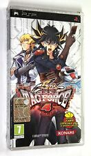 Gioco Playstation PSP Yu-Gi-Oh! 5D'S GX TAG FORCE 4 + Carte Promo Konami 2009