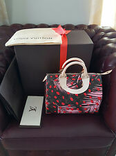 NEW NEW Louis Vuitton Pink Monogram Palm Springs Jungle Dot Speedy 30 Bag