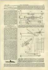 1884 Sheaf Binding Reaping Machines Mechanism described
