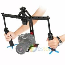 Professional Handheld Stabiliser Video Steadycam Dual Gimbal Camera Rig Load-6KG