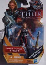 MARVEL THOR ACTION FIGURE BATTLE HAMMER THOR. SWORD BECOMES HAMMER MINI UNOPENED