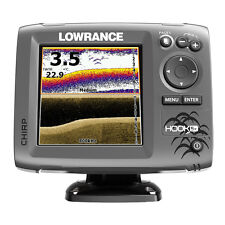 Lowrance HOOK-5x Fishfinder 83/200/455/800 HDI with Transducer
