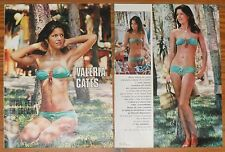 VALERIE CATES 3 page 1974 article sexy photos model Phoebe sister clippings