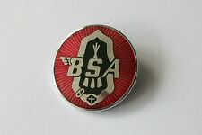 BSA ENAMEL LAPEL PIN BADGE