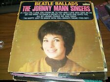 The Johnny Mann Singers-Beatle Ballads-LP-Liberty-LRP 3391-Vinyl Record-VG+