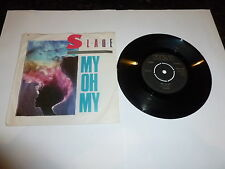 "SLADE - My Oh My - 1983 UK 7"" Single in picture sleeve"