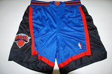 VINTAGE New York Knicks Authentic Starter NBA Basketball Shorts Sewn XL RARE