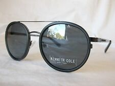 KENNETH COLE SUNGLASSES KC7204 20C GREY SMOKE MIRROR 52-20-140 NEW & AUTHENTIC