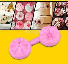 Sugar Craft Tools Silicone Flower DIY Cake Fondant Decorating Baking Mold Mould