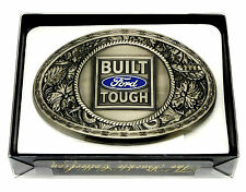 Ford Belt Buckle Car Vehicle Western Spec Cast Officially Licensed Collectible