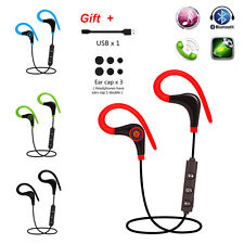 Wireless Bluetooth SPORT Headset Handsfree Stereo Headphone For iPhone Samsung