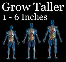 "POWERFUL GAIN HEIGHT PILLS..GROW TALLER SAFELY NOW! ""GROW TALL®"" 4 MONTH COURSE"