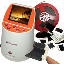 Wolverine F2D Mighty 20MP 7-in-1 Film to Digital Converter Color: White NEW
