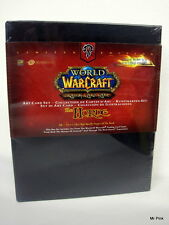 WORLD OF WARCRAFT Trading Card Game THE HORDE Set Di Art Card Limited Nuovo