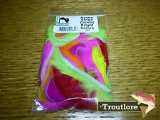 RABBIT STRIPS COMBO BRIGHT COLOURS HARELINE DUBBIN NEW FLY TYING MATERIALS