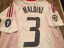 Maglia AC Milan Final CL 2003  Maldini Shevchenko   and etc. retro shirt