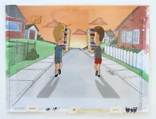Beavis & Butt-head Sunset Production Cel Background Cell And MTV Animation Art