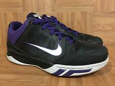 RARE�� Nike Kobe Dream Season II Black Leather Varsity Purple Sz 11 407624-101