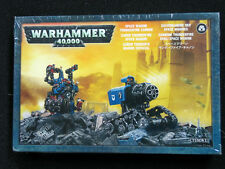 Warhammer 40,000 Space Marine Thunderfire Cannon - Metal - New Sealed