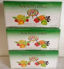 MELTIS NEWBERRY FRUITS 200gm Fruit Jellies - 3 Boxes