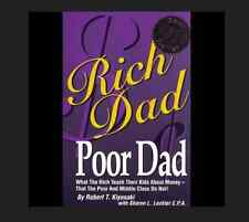 Rich Dad Poor Dad by Robert Kiyosaki FREE SHIPPING Teach Kids about Money
