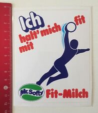 Aufkleber/Sticker: Fit Mit Mr. Softy Fit-Milch - Handball (220516191)