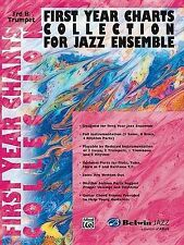 First Year Charts Collection for Jazz Ensemble: 3rd B-Flat Trumpet, New, Various