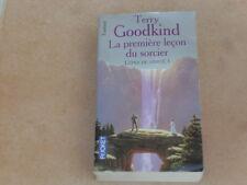 lot 2 livres Pocket Fantasy - Terry Goodkind / L'épée de vérité 1 - TBE