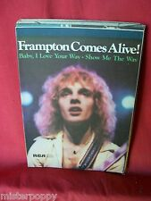 PETER FRAMPTON Baby I love your way + Show me the way Spartiti 1976