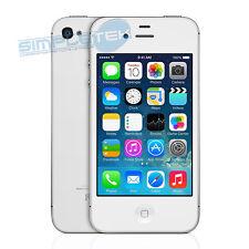 APPLE IPHONE 4S 16GB BLANC NIVEAU À + ACCESSOIRES + GARANTIE 4 MOIS PRODUIT