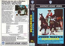 CHISUM (1970) VHS ORIGINALE 1ª EDIZIONE 1985
