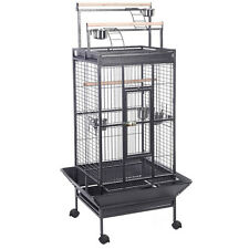 New Parrot Bird Finch Cage Cockatiel Parakeet Ladder Iron House Pet Supply...
