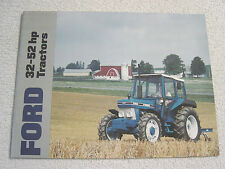 FORD 32-52 hp 2110 2810 2910 3910 4610 SU TRACTOR DEALER SALES BROCHURE w/specs