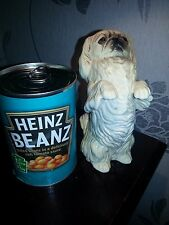 """OLD STYLE BESWICK PEKINESE BEGGING DOG 6"""" TALL 1987 NO. 2982 IN VGC"""