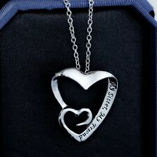 """Silver """"my sister,my friend""""letter Pendant Charms Necklace Family Friend Gift"""