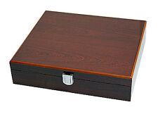 Neue Uhrenbox für 10 Uhren 8-fach lackiert innen schwarz Palisander NEU