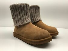 $169 UGG Australia women's Cambridge Lined Knit Boot chestnut size 8 NWD