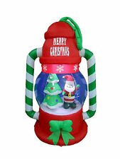 Christmas Inflatable Lantern Lamp Santa Tree Lights 2016 Yard Outdoor Decoration