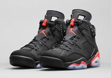 2014 Nike Air Jordan 6 VI Retro Black Infrared Size 13. 384664-023 1 2 3 4