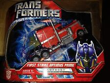 Transformers Voyager Class First Strike Edition Optimus Prime New G1 Deco Movie