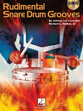 Rudimental Snare Drum Grooves Percussion Book and CD NEW 006620126