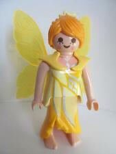 Playmobil Fairy figure (yellow/silver) NEW for magic/fairytale/palace sets