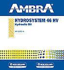 OLIO IDRAULICO HYDROSYSTEM 46 HV 5LT AMBRA PETRONAS NEW HOLLAND