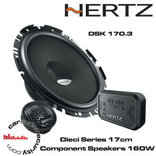 HERTZ dsk170.3 dieci componente 17cm 2-way Series PORTA ALTOPARLANTI COPPIA 160w ogni
