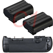 NEW Battery Grip for Nikon D600 D610 DSLR + 2x EN-EL15 ENEL15 MB-D14 Camera
