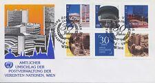UNO WIEN - 2009 GRUSSMARKEN 607-11 A VIENNA INTERNATIONAL C. ERSTTAGSBRIEF FDC