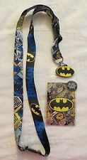DC Comics Batman Comic Lanyard Badge / Ticket Holder New