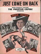 Just Come On Back 1935 The Phantom Empire Gene Autry