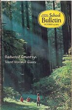 national geographic-SCHOOL BULLETIN-oct 19,1964-REDWOOD COUNTRY.