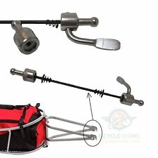 Bicycle Quick Release Skewer Single Wheel Cargo Trailer Hitch Bicycle Bike 811